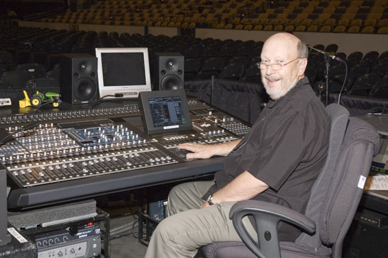 Stan at the Mixer - Recent Neil Diamond Tour 550