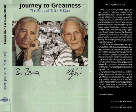 Journey to Greatness, the story of Bruel and Kjaer